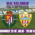 Lo que se comenta del Almería vs R. Valladolid