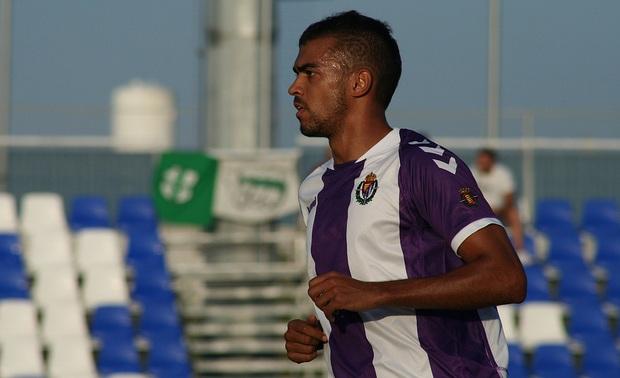 Heinz Barmettler en el partido ante el Almería (AupaPucela.com)