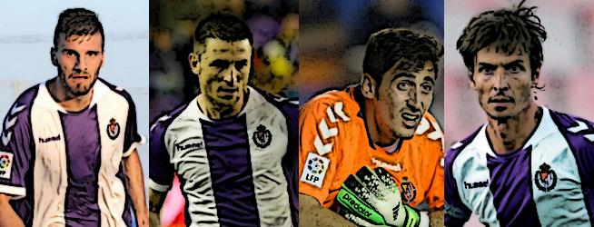 Los cuatro blanquivioletas destacados en los 'Premios LAV' al empate (0-0) ante el Elche en el Martínez Valero