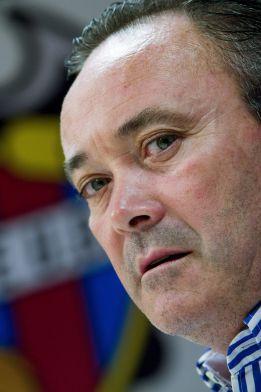 Juan Ignacio Martínez, entrenador del Levante (AS)