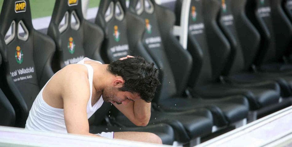 Tras empatar ante el Getafe, Diego Costa mostró la dureza del 2010 que terminó con el descenso de categoría. (El Norte de Castilla)