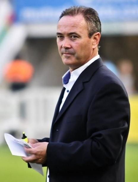 Juan Ignacio Martínez, antes del partido en Elche (RV.es)