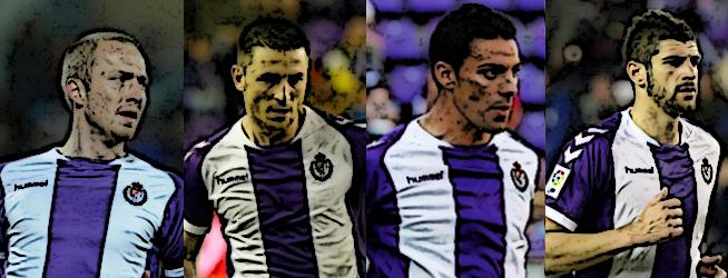 Los cuatro blanquivioletas destacados en los 'Premios LAV' al empate (1-1) en el partido de La Rosaleda