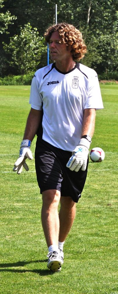 Diego Tuero en el Real Oviedo