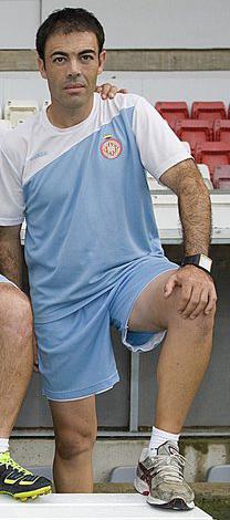 Manu González en el Girona (Ara)