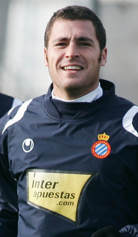 Javi Chica en un entrenamiento en 2007 (Marca)