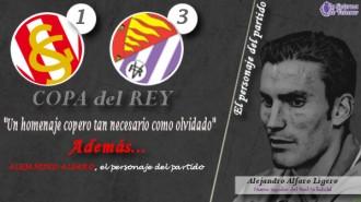 La infografía sobre la victoria copera (1-3) del Real Valladolid sobre el Sporting de Gijón, con Alejandro Alfaro como protagonista