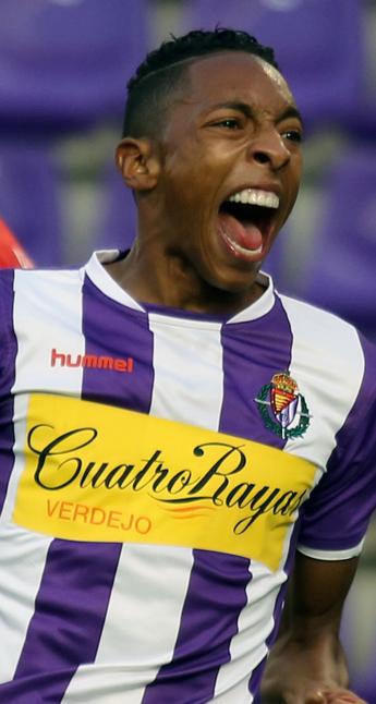 Johan Mojica celebrando el gol Girona (RV.es)