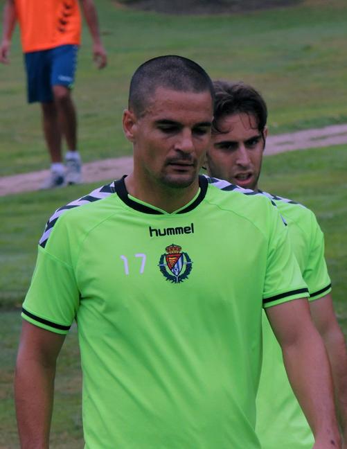 Carlos Peña durante la pretemporada realizada en Mondariz (RV.es)