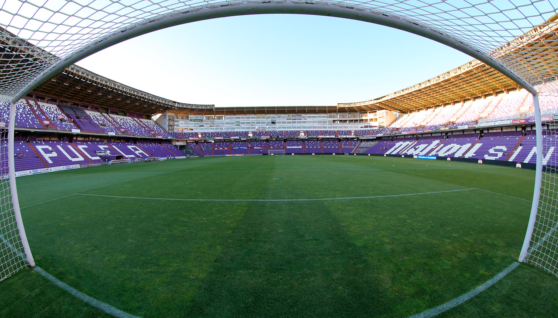 Imagen de estadio José Zorilla, feudo blanquivioleta que en 2014 sólo han conquistado Granada y Las Palmas (RealValladolid.es)