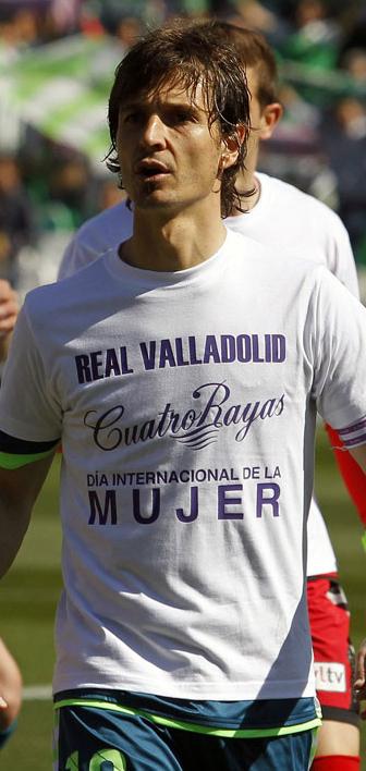 Álvaro Rubio antes del partido (RV.es)