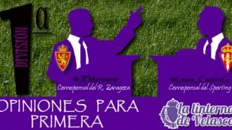 Real Zaragoza vs Sporting de Gijón, duelo destacado de la jornada 33, por Juan Pablo Montaner y Laura Castro