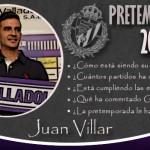 Así está siendo la pretemporada de Juan Villar