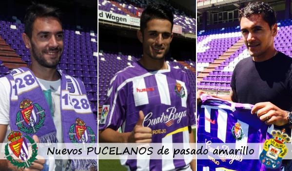 Guzmán Casaseca, Juanpe Ramírez y Marcelo Silva, nuevos pucelanos y ex grancanarios (RV.es)