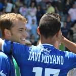 Javier Moyano, un futbolista creado en Segunda B