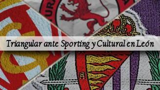 PRETEMPORADA Sporting de Gijón y Cultural Leonesa vs Real Valladolid - PORTADA