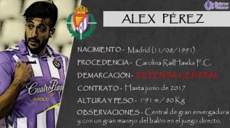 Presentación LAV de ALEX PÉREZ como nuevo jugador del Real Valladolid para la próxima temporada