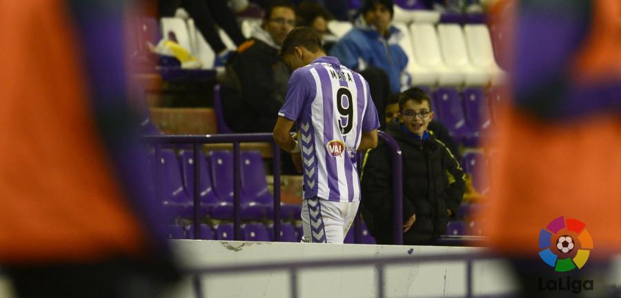 Jaime Mata, en la imagen que mejor define su aportación en la temporada 2016/2017 | <em><strong>Foto: LaLiga</strong></em>