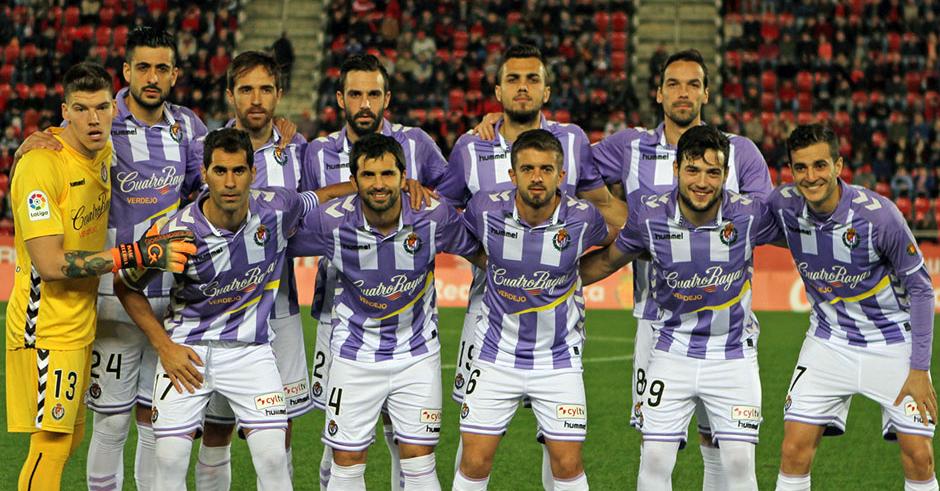 ONce titular del Real Valladolid en el duelo disputado en Mallorca el pasado domingo (RealValladolid.es)