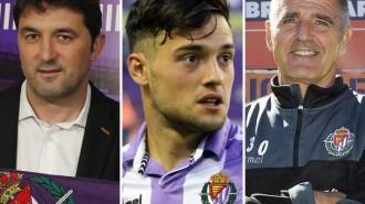 Braulio Vázquez, Jose Arnáiz y Paco Herrera, tres grandes protagonista de la actualidad vallisoletana (RealValladolid.es)