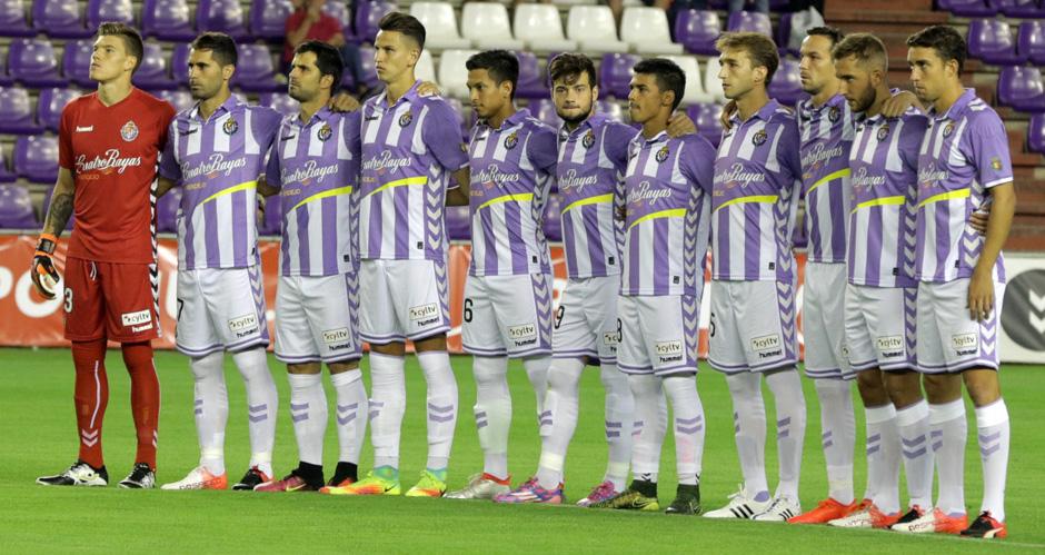 El once titular en el primer partido liguero de la temporada ante el Real Oviedo en el Estadio José Zorrilla <em><strong>(RealValladolid.es)</strong></em>