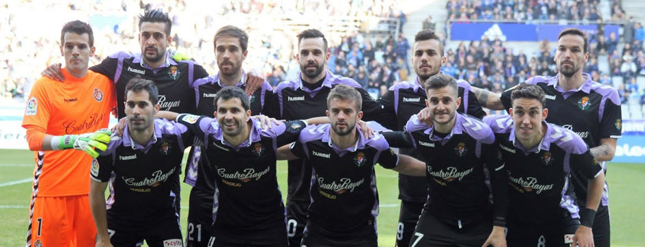Once titular del Real Valladolid en el duelo ante el Real Oviedo en el Carlos Tartiere<em><strong>(RealValladolid.es)</strong></em>