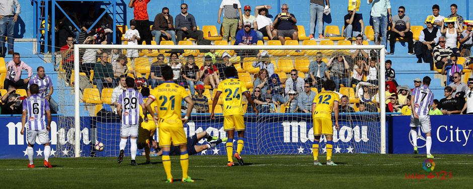 Juan Villar anota el segundo y el definitivo tanto de la victoria ante la Agrupación Deportiva Alcorcón <em><strong>(LaLiga)</strong></em>