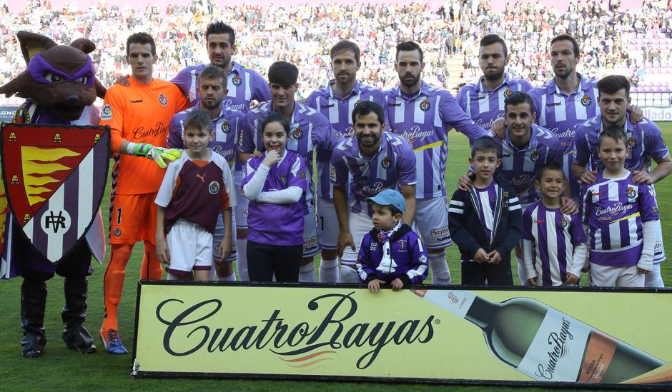 Once titular de Paco Herrera en la humillante goleadaante el Levante UD<em><strong>(RealValladolid)</strong></em>