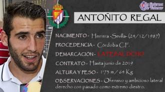 Presentación LAV de ANTOÑITO REGAL como nuevo jugador del Real Valladolid para los dos próximos años