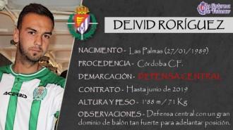 Presentación LAV de DEIVID RODRÍGUEZ como nuevo jugador del Real Valladolid para las dos próximas temporadas