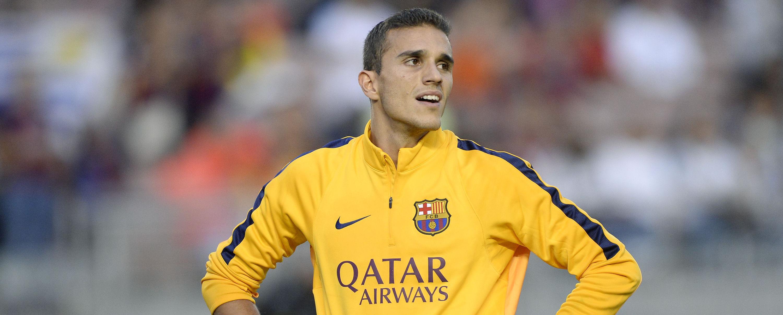 Jordi Masip, durante un calentamiento previo a un partido oficial del Fútbol Club Barcelona durante la pasada temporada