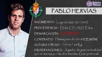 Presentación LAV de PABLO HERVÍAS como nuevo jugador del Real Valladolid para la próxima temporada
