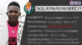 Presentación LAV de SULAYMAN MARREH como nuevo jugador del Real Valladolid para la próxima temporada