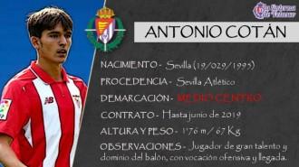 Presentación LAV de ANTONIO COTÁN como nuevo portero del Real Valladolid para las dos próximas temporadas