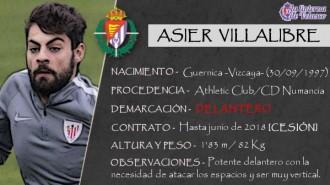 Presentación LAV de ASIER VILLALIBRE como nuevo delantero del Real Valladolid para la próxima temporada