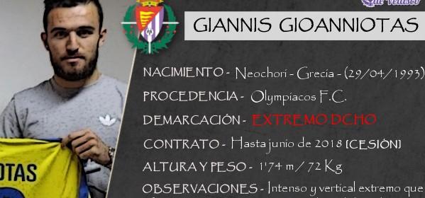Presentación LAV de GIANNIS GIANNIOTAS como nuevo central del Real Valladolid para la próxima temporada