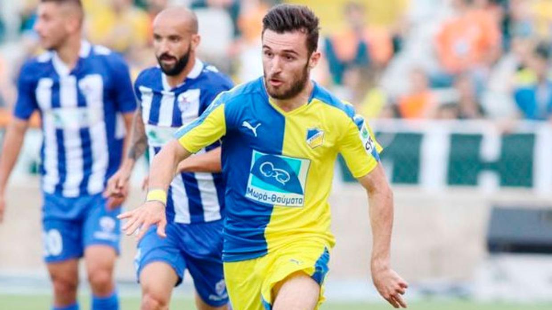 Giannis Gianniotas, en un partido con el Apoel de Nicosia la pasada temporada <em><strong>(ABC)</strong></em>