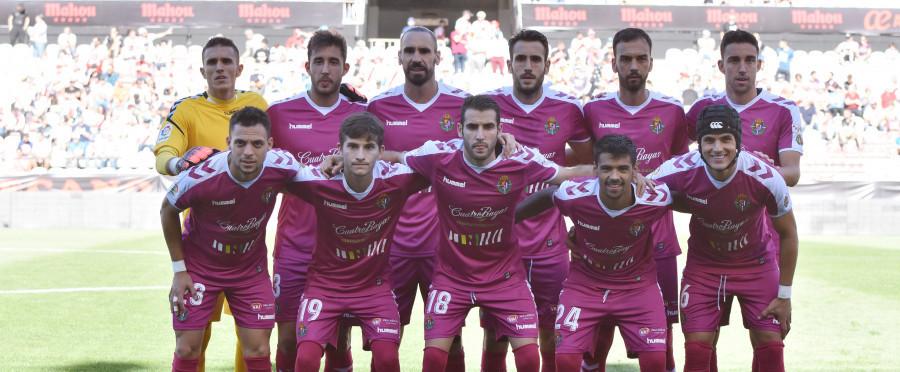Once titular del Real Valladolid en el duelo ante el Rayo Vallecano en el duelo de Vallecas <em><strong>(LaLiga)</strong></em>