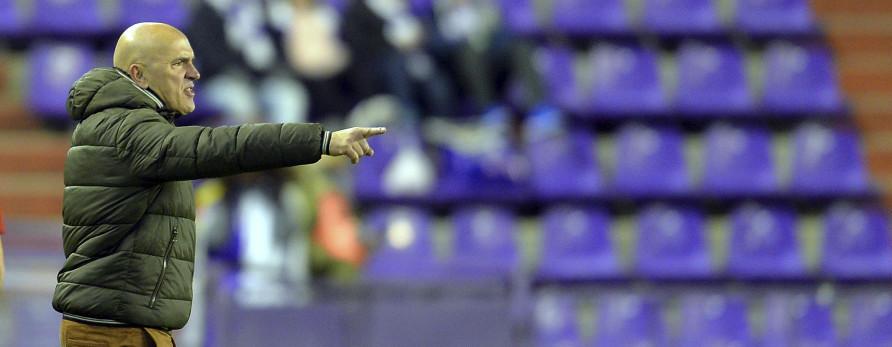 Luis César Sampedro, en el duelo ante el Real Zaragoza con el que se cerró 2017 | <em><strong>Foto: LaLiga</strong></em>
