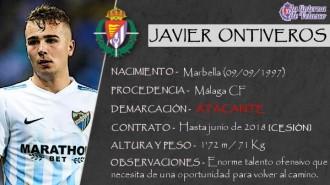 Presentación LAV de JAVIER ONTIVEROS como nuevo jugador del Real Valladolid para los cinco próximos meses