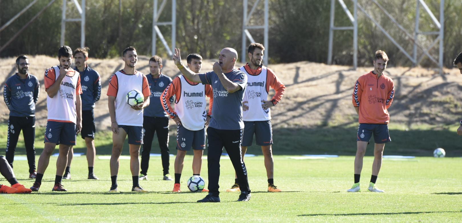 Luis César Sampedro, en la pretemporada con el Real Valladolid | <em><strong>Foto: Andrés Domingo - ElDesmarque Valladolid</strong></em>