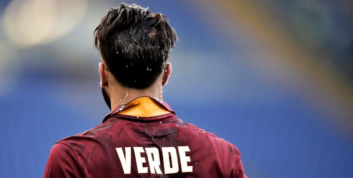 Daniele Verde, durante un partido con la camiseta de la AS Roma | <em><strong>Foto: AS Roma</strong></em>