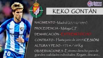 Presentación LAV de KEKO GONTÁN como nuevo jugador del Real Valladolid para la próxima temporada
