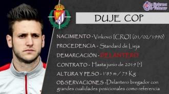 Presentación LAV de DUJE COP como nuevo jugador del Real Valladolid para la próxima temporada