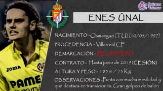 Presentación LAV de ENES ÜNAL como nuevo jugador del Real Valladolid para la próxima temporada
