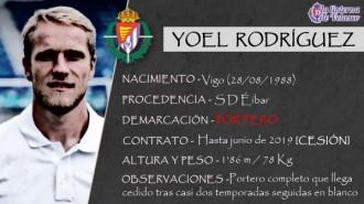 Presentación LAV de YOEL RODRÍGUEZ como nuevo jugador del Real Valladolid para la próxima temporada