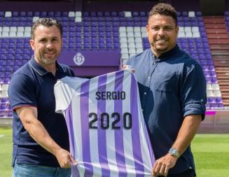 La renovación de Sergio, primer gol blanquivioleta