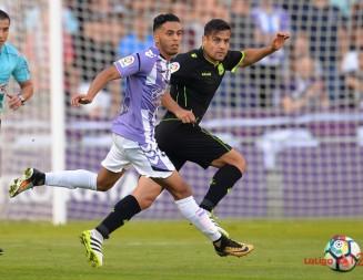 El Real Valladolid, por fin, se 'encontró' con Anuar