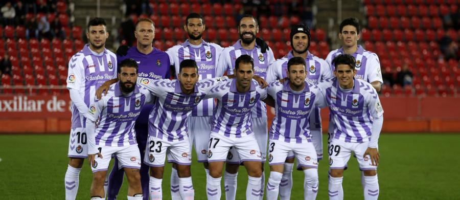 Once titular del Real Valladolid en el encuentro copero en el Estadio de Son Moix de Mallorca | <em><strong>Foto: LaLiga</strong></em>