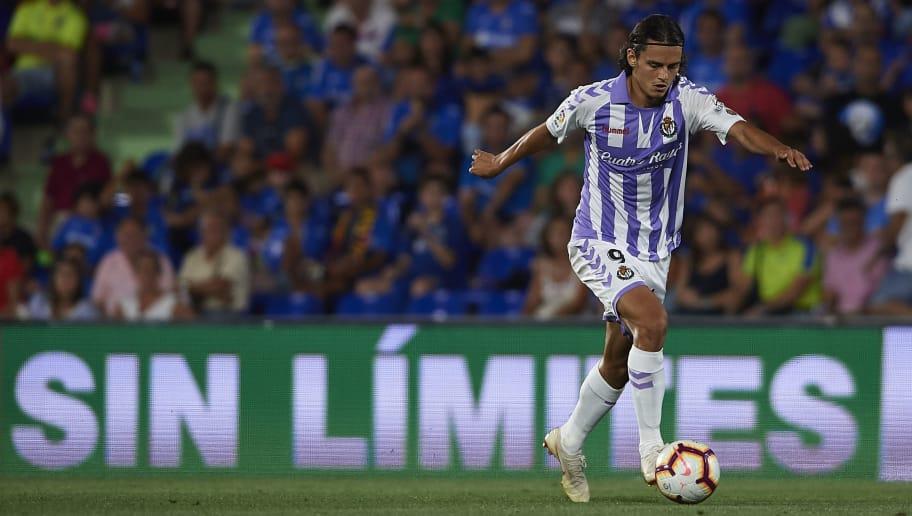 Enes Ünal, en el duelo liguero ante el Getafe CF en el Colisuem Alfonso Pérez | <em><strong>Foto: 90min</strong></em>